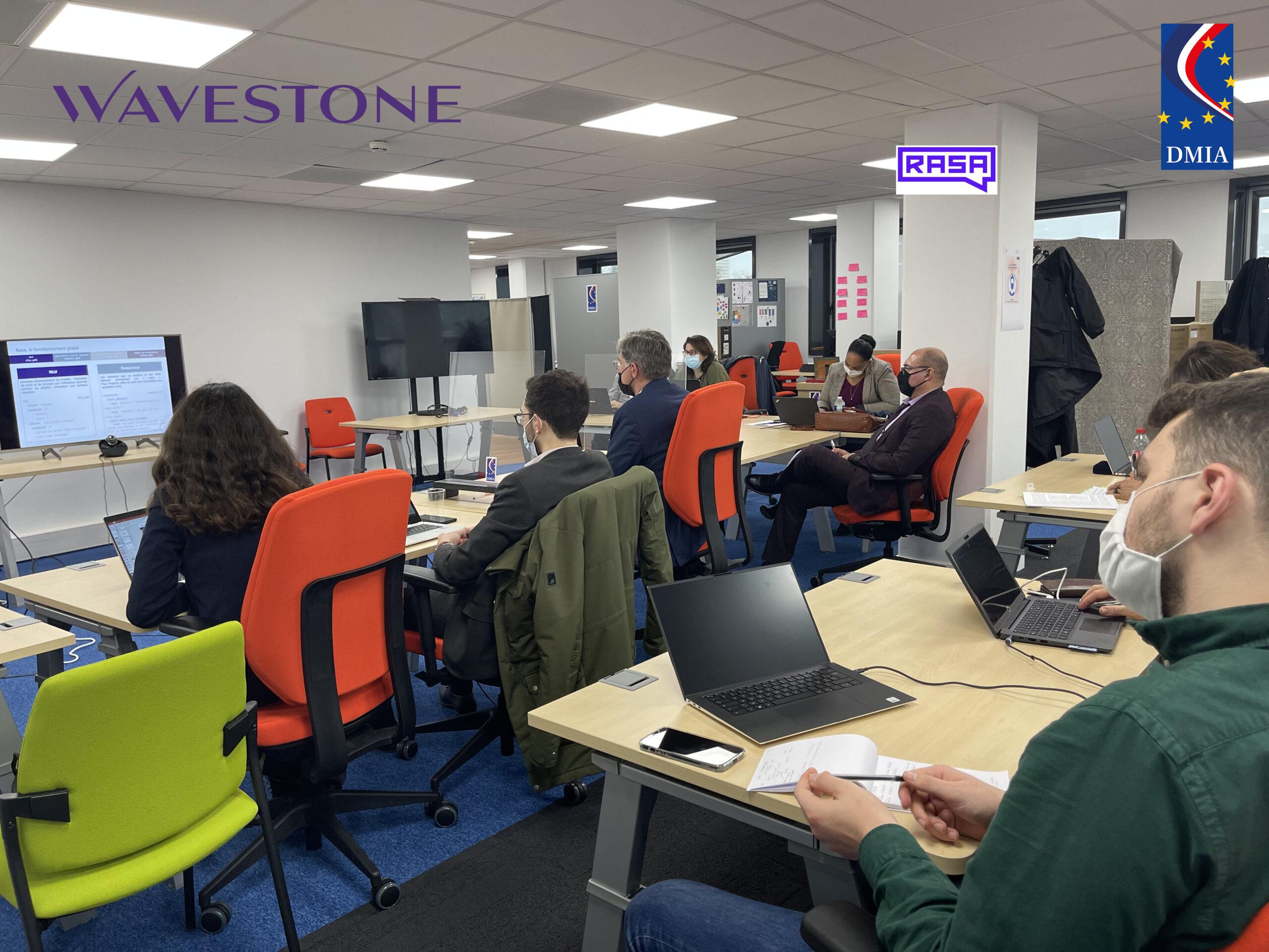 Formation mutualisée au TAL avec Wavestone